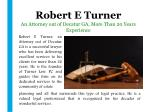 robert e turner an attorney out of decatur ga more than 20 years experience