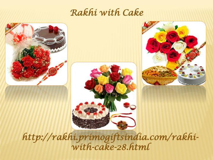 Rakhi with Cake