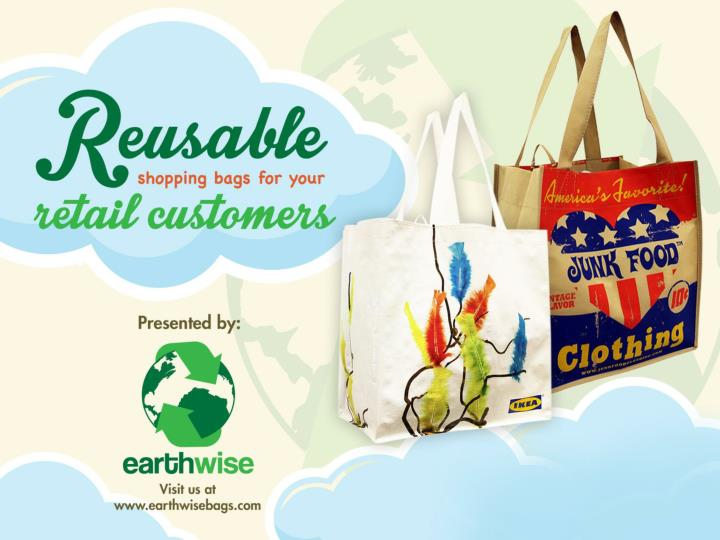 Reusable shopping bags for your retail customers 7170274