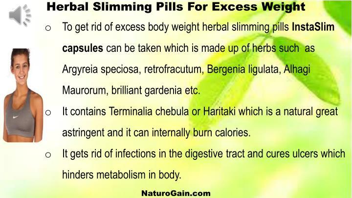Herbal Slimming Pills
