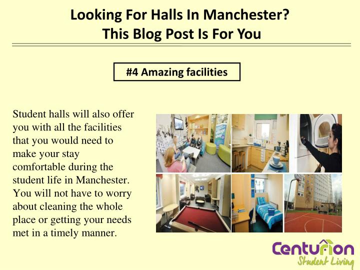 Looking For Halls In Manchester?