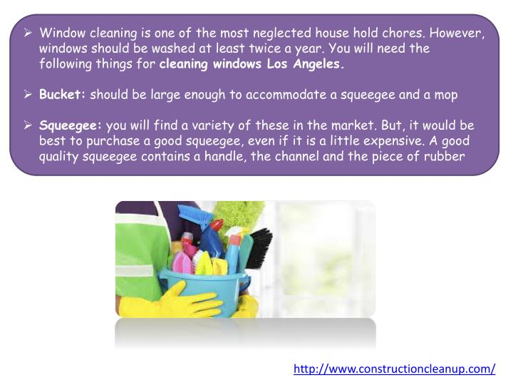 Window cleaning is one of the most neglected house hold chores. However, windows should be washed at...