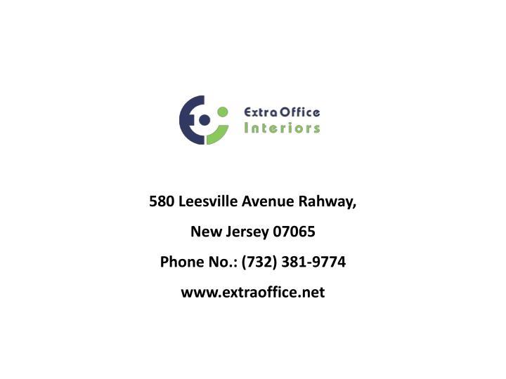 580 Leesville Avenue Rahway,