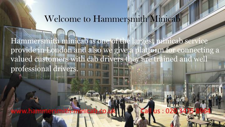 Welcome to Hammersmith Minicab