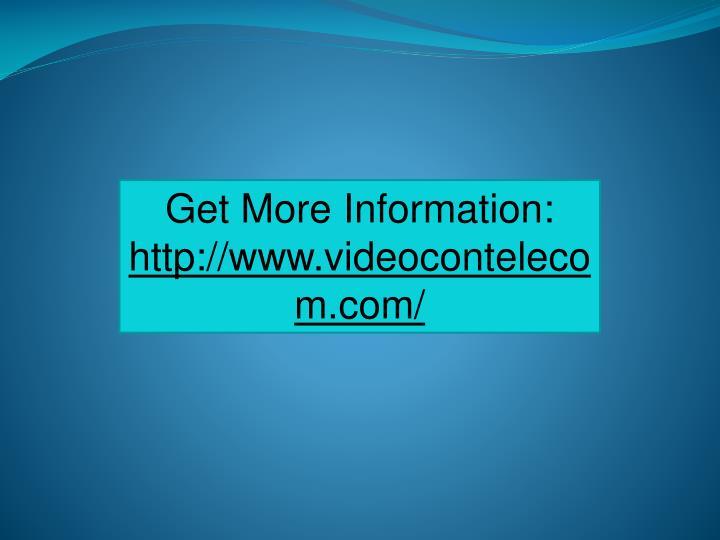 Get More Information: