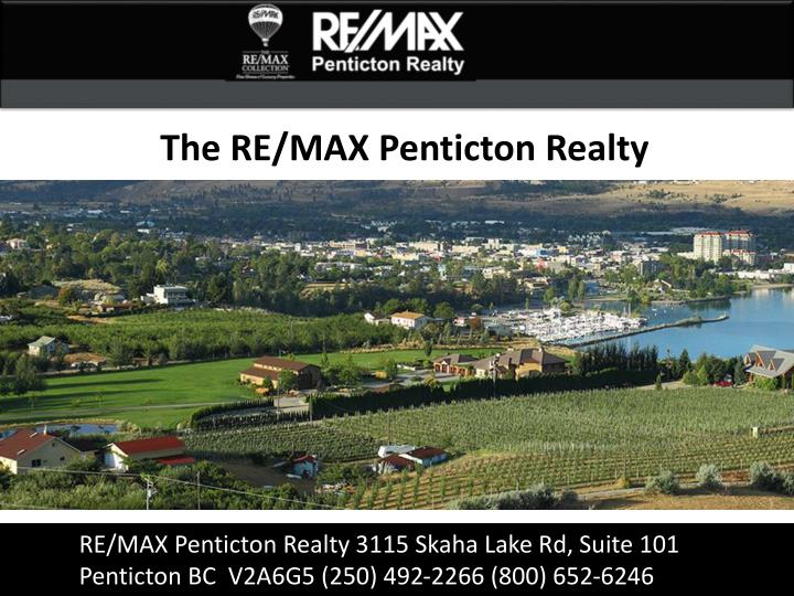 The RE/MAX Penticton Realty