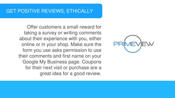 GET POSITIVE REVIEWS, ETHICALLY