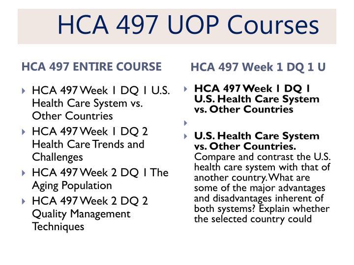 HCA 497 UOP
