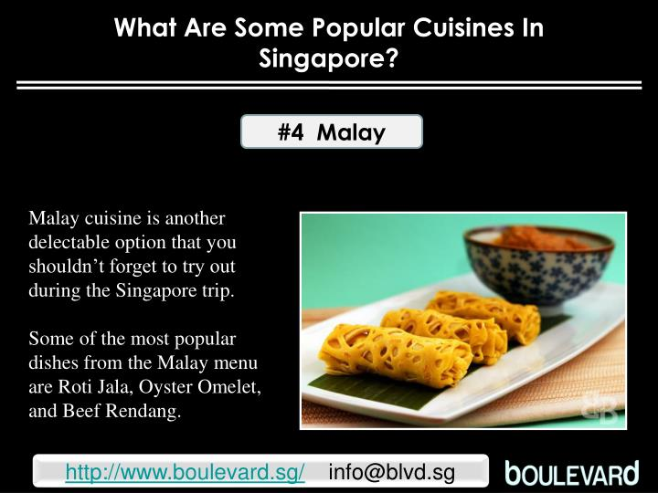 What Are Some Popular Cuisines In