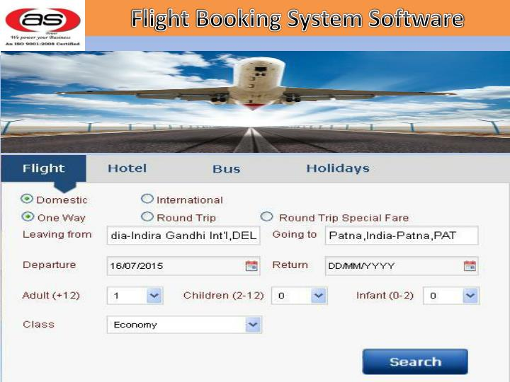 Flight Booking System Software