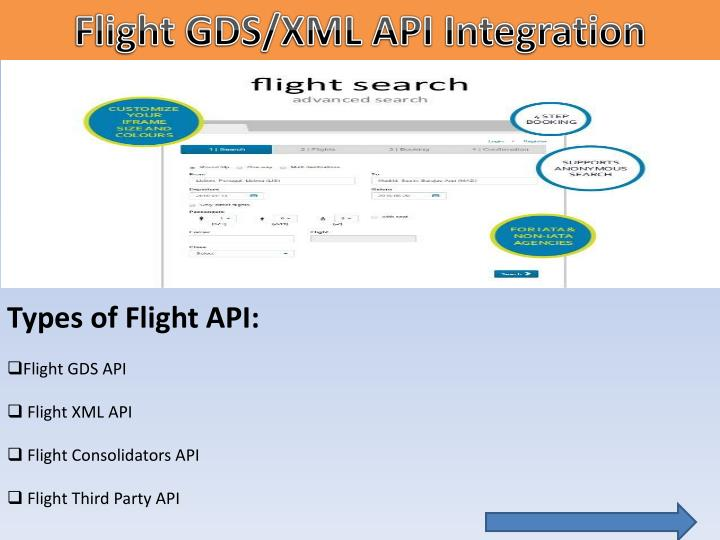 Flight GDS/XML API Integration