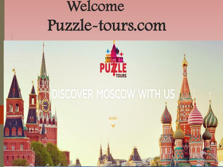 Welcome puzzle tours com