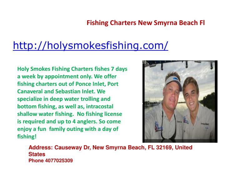 Fishing Charters New Smyrna Beach Fl