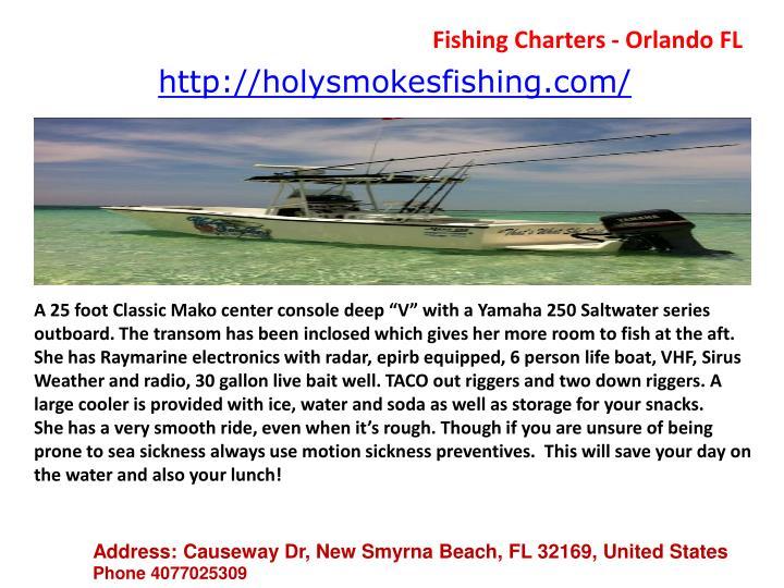 Fishing Charters - Orlando FL