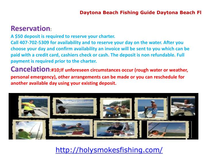 Daytona Beach Fishing Guide Daytona Beach Fl