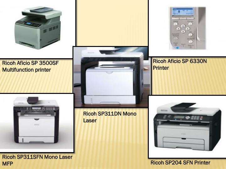 Ricoh Aficio SP 6330N Printer
