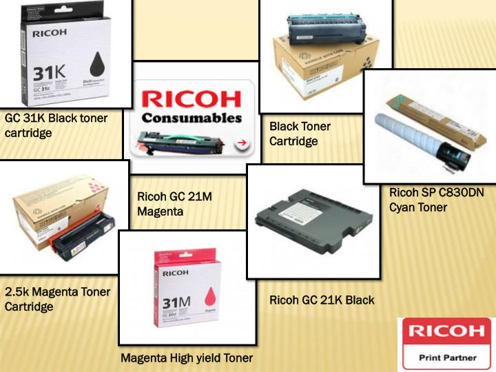 GC 31K Black toner cartridge