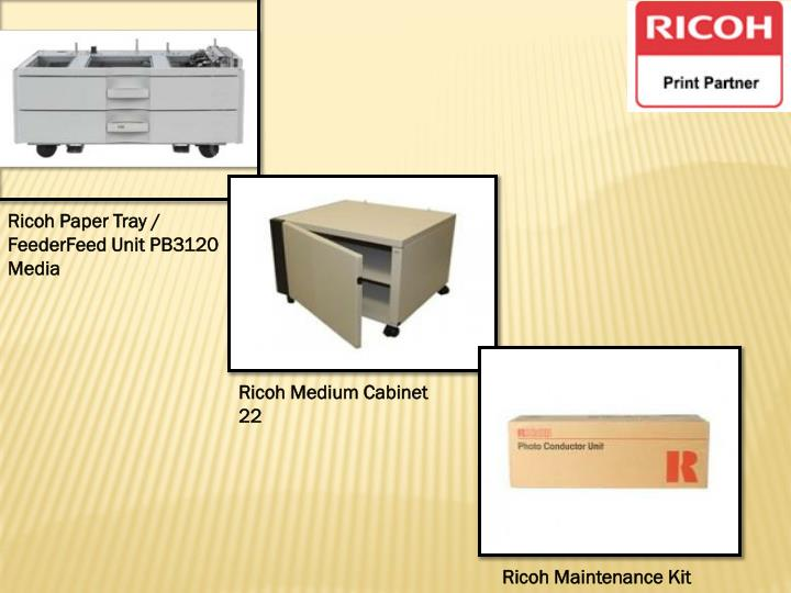 Ricoh Paper Tray / FeederFeed Unit PB3120 Media