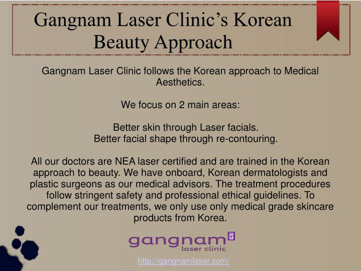 Gangnam laser clinic s korean beauty approach