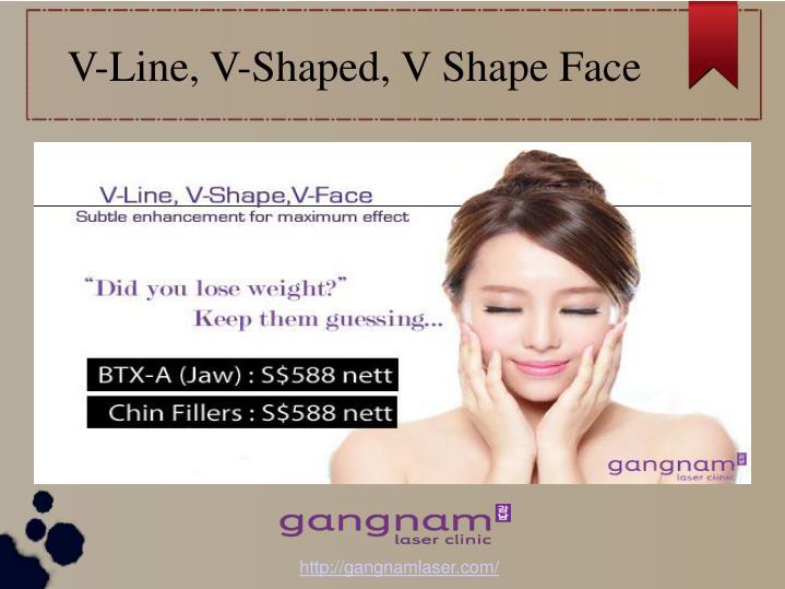 V-Line, V-Shaped, V Shape Face