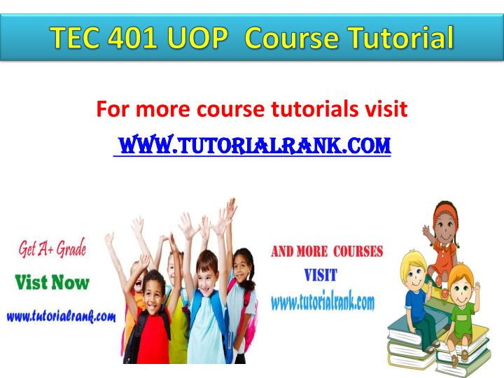 For more course tutorials visit www tutorialrank com