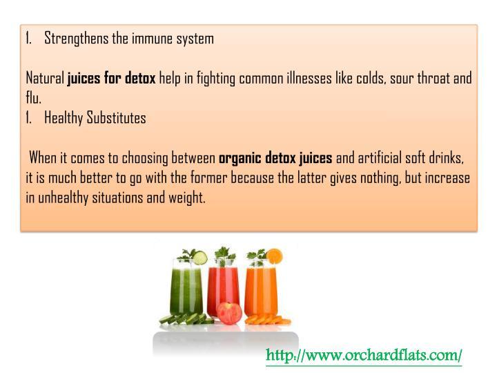 Strengthens the immune