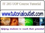 it 205 uop course tutorial19