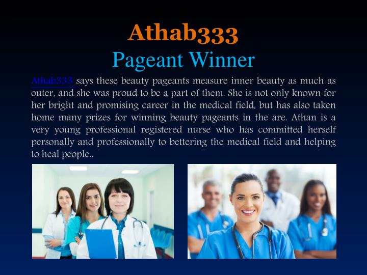 Athab333 pageant winner