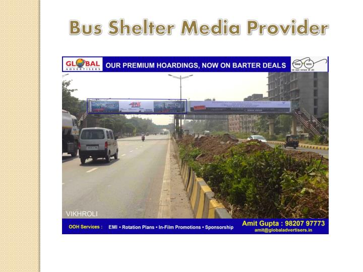 Bus Shelter Media Provider