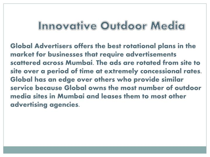 Innovative Outdoor Media