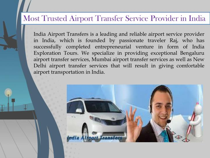 Most Trusted Airport Transfer Service Provider in India