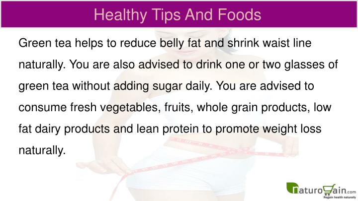 Healthy Tips And Foods