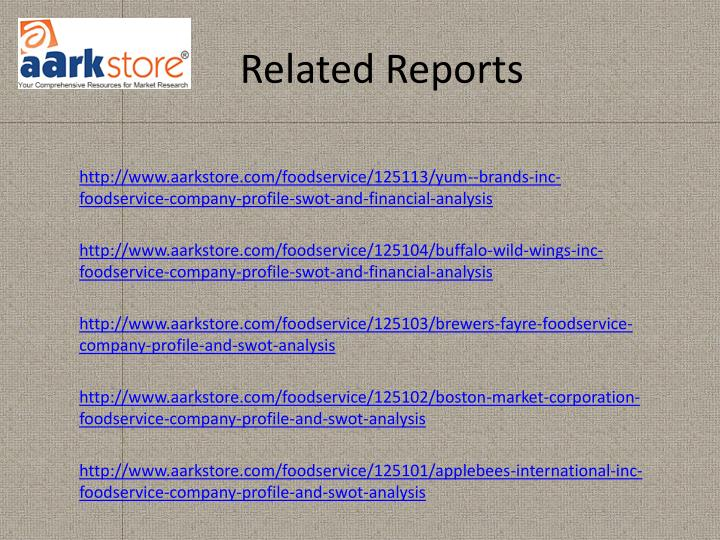 Related Reports