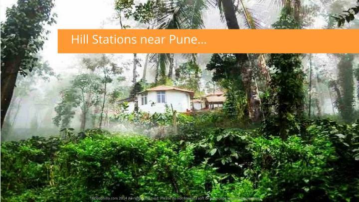 Hill Stations near