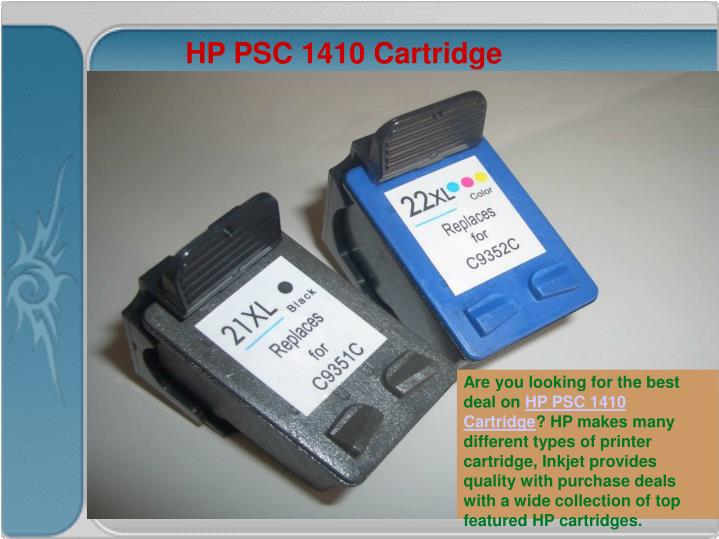 HP PSC 1410 Cartridge