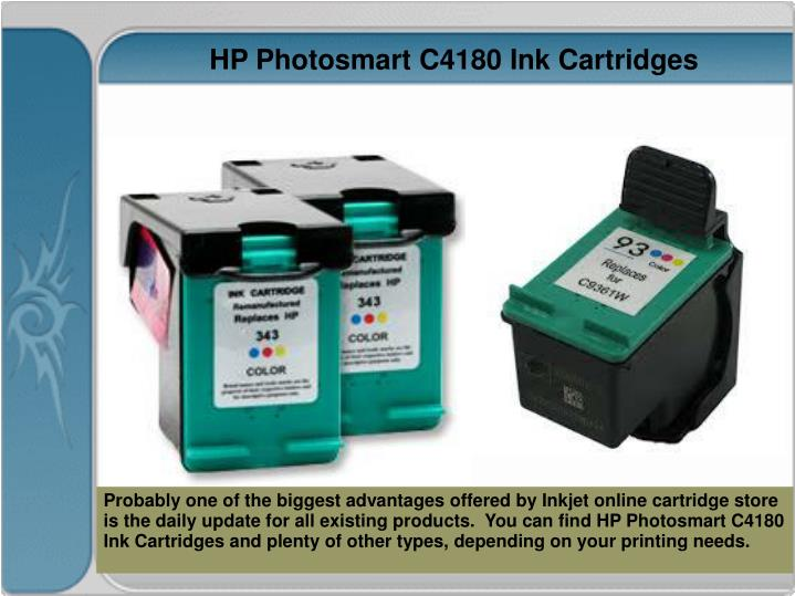 HP Photosmart C4180 Ink Cartridges