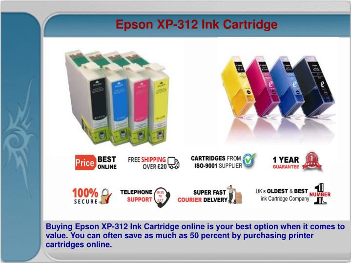 Epson XP-312 Ink Cartridge