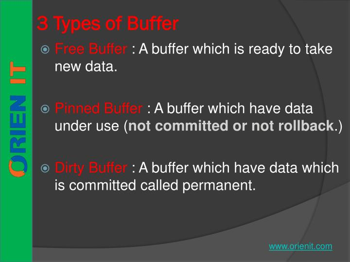 3 Types of Buffer