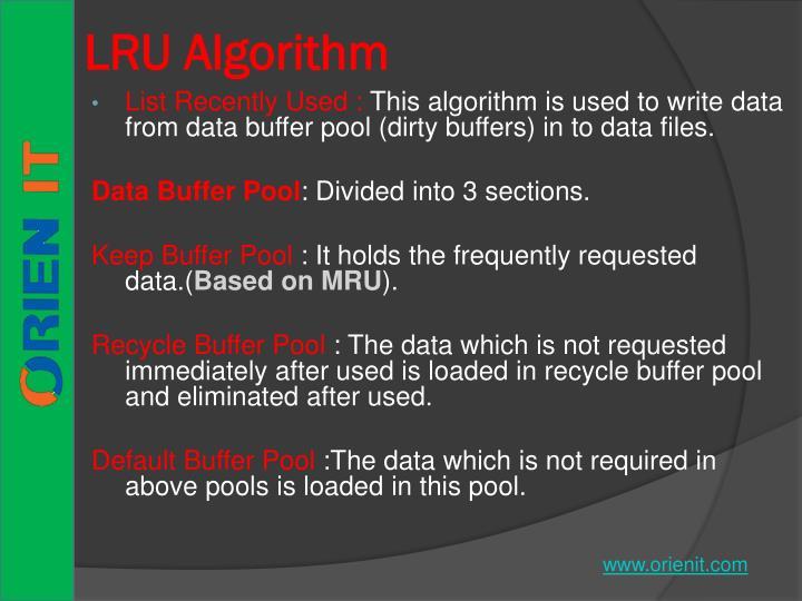 LRU Algorithm