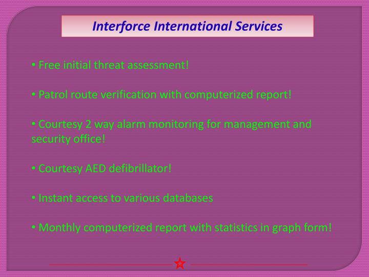 Interforce International Services