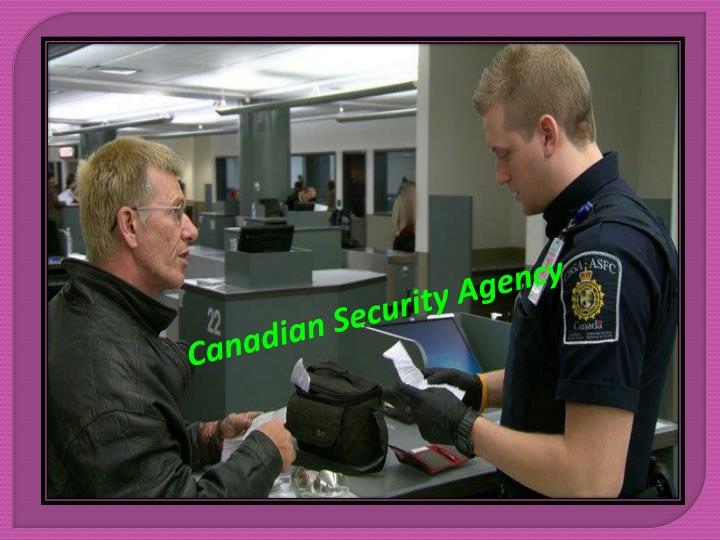 Canadian Security Agency