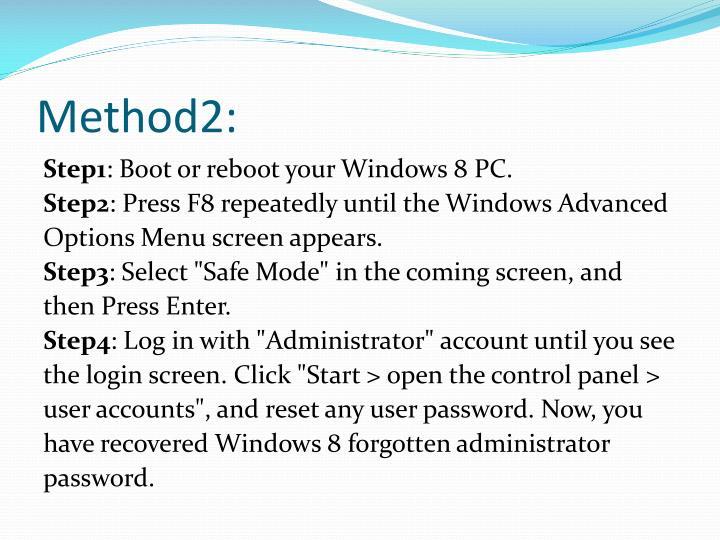Method2: