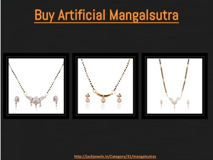 Buy Artificial Mangalsutra