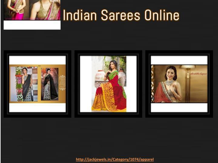 Buy Indian Sarees Online