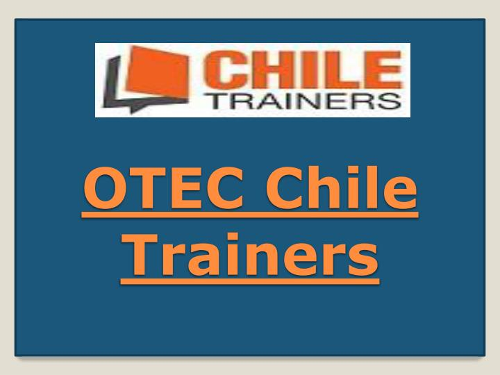 Otec chile trainers
