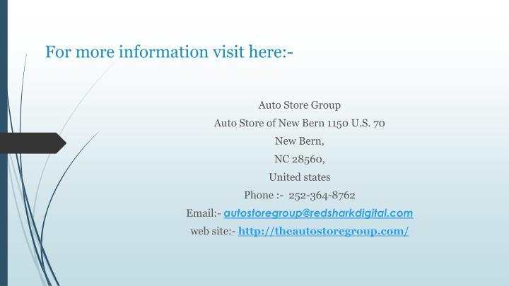 For more information visit here:-