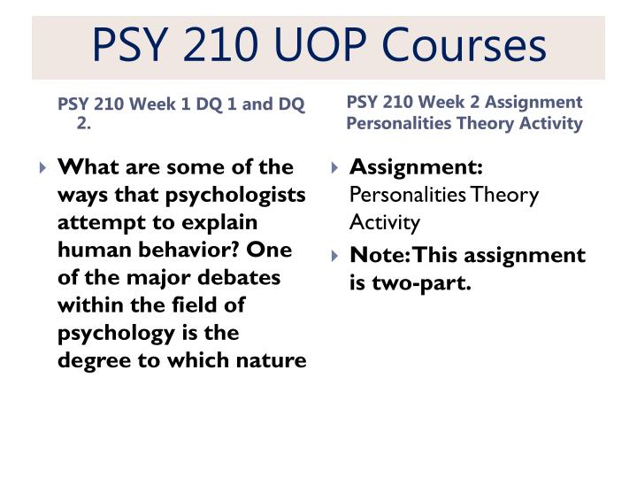 psy 210 psychology and health problems Individual: psychology and health problems psy/210 jennifer graves individual: psychology and health problems the multifactorial model uses different factors from different types of influences, traits and behaviors to determine health conditions according to different influences, as well as susceptibility to illness.