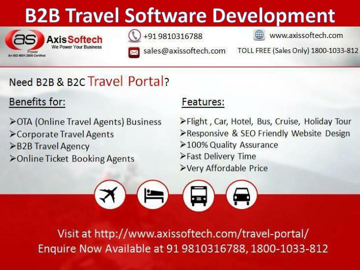 B2B Travel Software Development