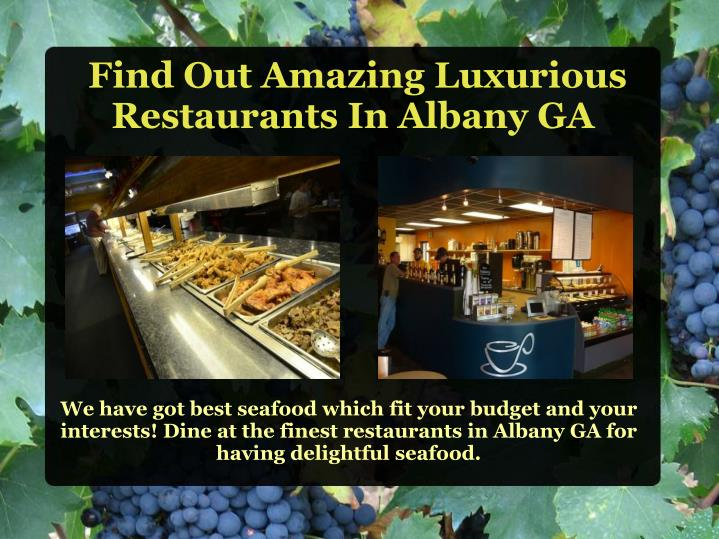 We have got best seafood which fit your budget and your interests! Dine at the finest restaurants in Albany GA for having delightful seafood.