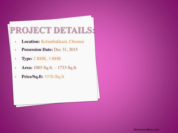 Project Details: